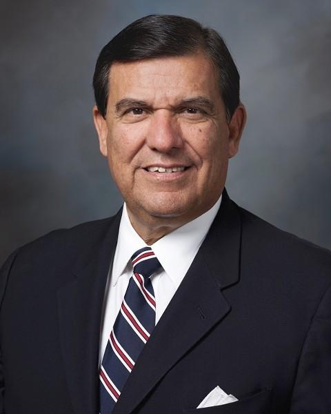 God. That's how Sen. Eddie Lucio Jr. makes his decisions at the Texas Legislature.