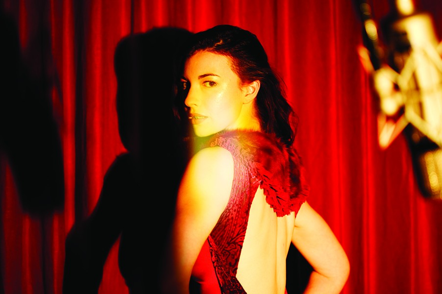 San Antonio native Chrysta Bell makes her television debut in Twin Peaks' revival - COURTESY DAVID LYNCH