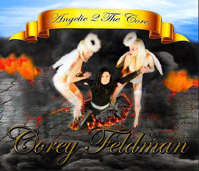 Possibly the greatest album cover of all time - COREY FELDMAN'S OFFICIAL FACEBOOK PAGE