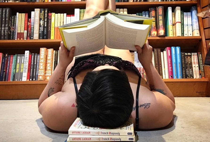 COURTESY OF NAKED GIRLS READING