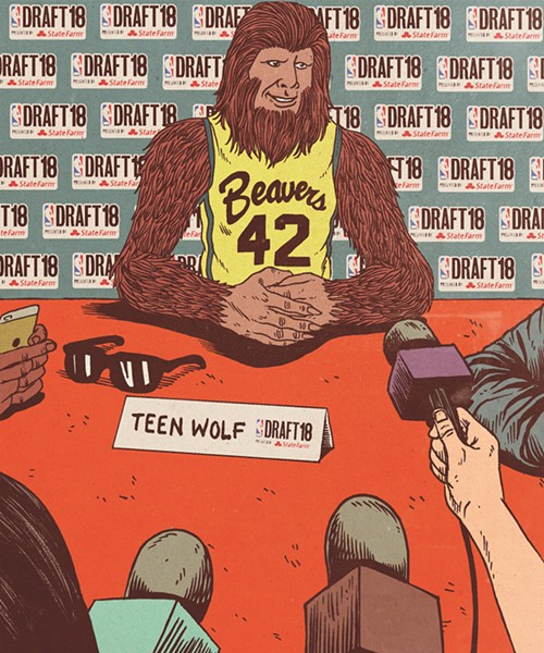 """What's the Order of the First Round of the Fictional Basketball Player Draft?"" - ARTURO TORRES/ABRAMS"