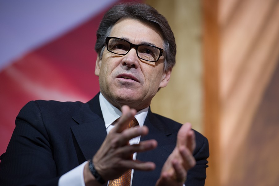 Rick Perry - SHUTTERSTOCK
