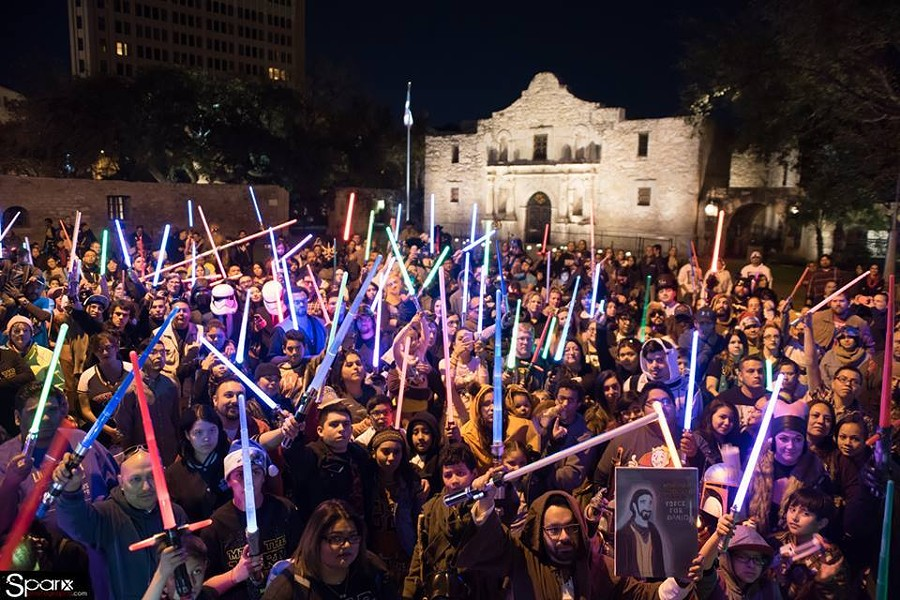COURTESY OF SAN ANTONIO WOOKIEE WALK