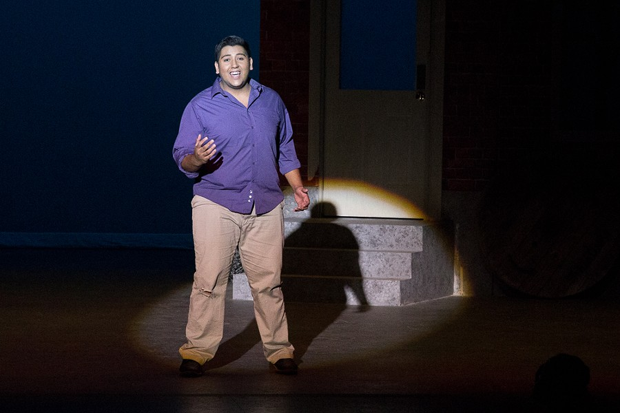 """Alex Montalvo playing Tony in """"West Side Story"""" - COURTESY OF PALO ALTO COLLEGE"""