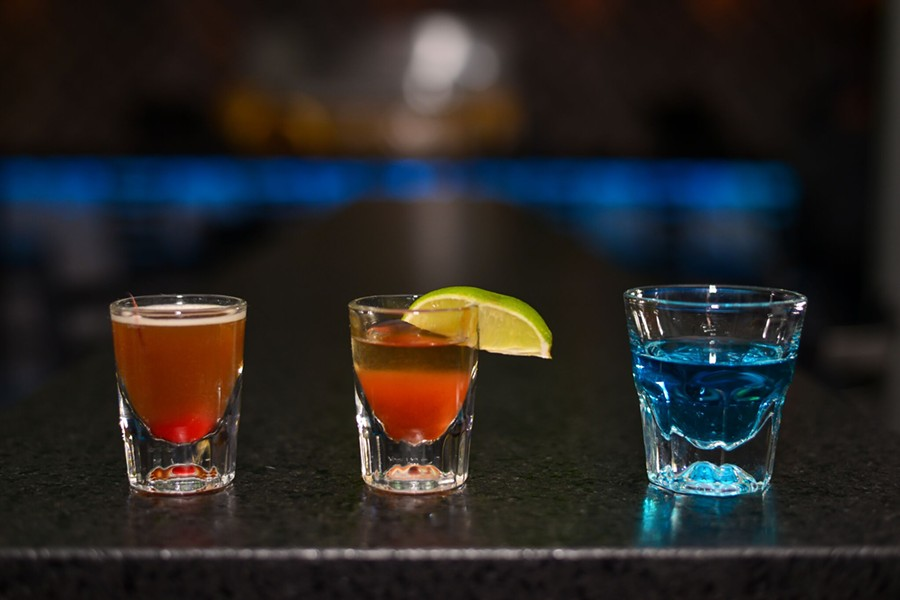 Shots available at the newly opened Groove House/ - COURTESY OF GROOVE HOUSE