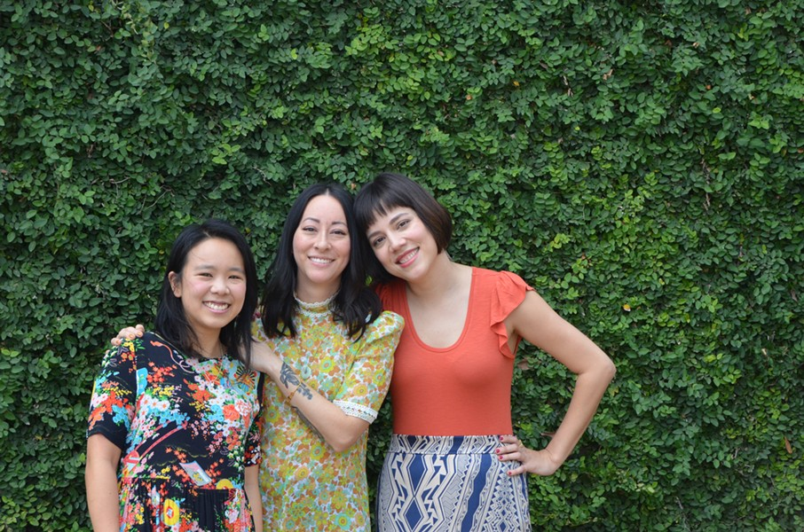 Anne Ng (far left), Jennifer Ling Datchuk (center), Jennifer Hwa Dobbertin (right), the women behind Best Quality Daughter - JESSICA ELIZARRARAS