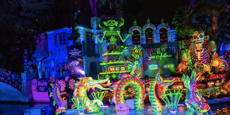 San Antonio Day of the Dead River Parade, recorded in secret, will be broadcast on KSAT Friday