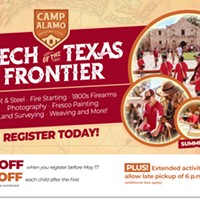 Camp Alamo : Tech of the Texas Frontier