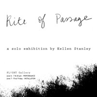 "Kellen Stanley: ""Rite of Passage"""