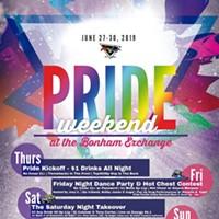 Pride Weekend at The Bonham Exchange