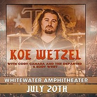Koe Wetzl, Cody Canada & The Departed, Kody West
