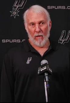 Coach Gregg Popovich