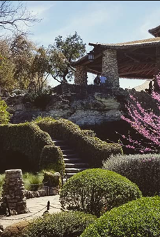 Park facilities such as the Japanese Tea Garden in Brackenridge Park were one of the factors Homes.com used to rank cities on its list.