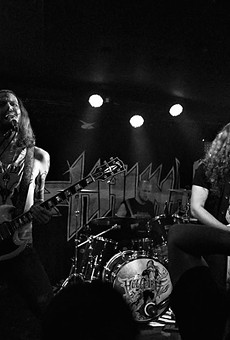 Haunt's guitar work evokes the sounds of early '80s British metal.