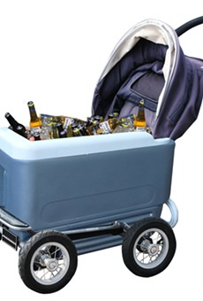 An Ice Chest Stroller, A Flask Corsage and Other Ways to Save Money at Fiesta