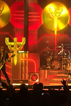 """They may be down two key members, but Judas Priest worked hard last night to maintain their status as """"Metal Gods."""""""