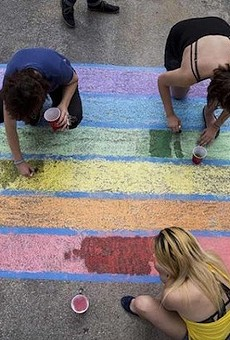 Fundraising Campaign for Main Avenue Rainbow Crosswalk Nears Goal
