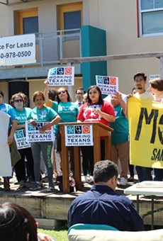 Working Texans for Paid Sick Time launched their San Antonio petition in April. They collected 144,000 signatures.
