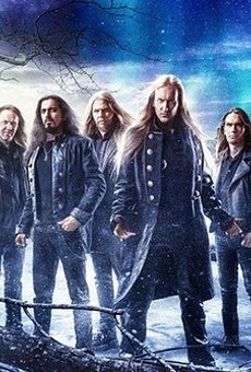 Wintersun is so epic its promo photo is actually a painting.