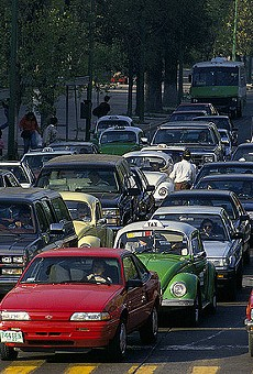 Traffic is just one perk of living in a boomtown.