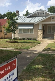Between 2005 and 2016, home ownership rates in San Antonio dropped from 61 percent to 54 percent.