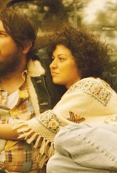 Ben Dickey and Alia Shawkat as Blaze Foley and Sybil Rosen