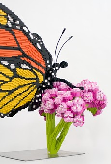 New San Antonio Botanical Garden Showcase Brings Attention to Nature Topics Through LEGO Art