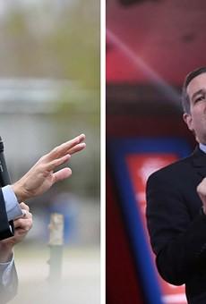 U.S. Representative Beto O'Rourke and U.S. Senator Ted Cruz will debate tonight in Dallas.