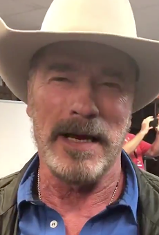 "Arnold Schwarzenegger Wishes San Antonio a Happy Birthday, Says It's a ""Fantastic City"""