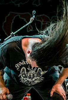 This is what Cannibal Corpse's brand of headbanging looks like.