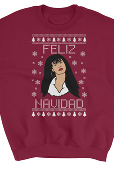 We Know You Want This Selena Christmas Sweater