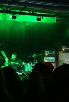 "Stoner rock icons Sleep pummel through their show closer, ""Dragonaut."""
