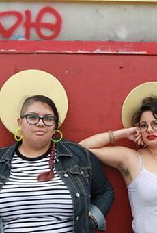 Isabel Ann Castro and Natasha Hernandez, creators of St. Sucia.