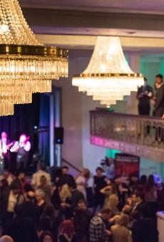 Celebrants mingle at the San Antonio Cocktail Conference.