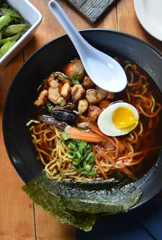 A Nod to the Noodle: Ramen Is the Star at Kuriya @ Cherrity Bar, But Some Small Plates Also Deserve Accolades