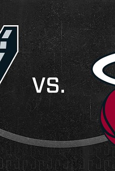 Dwyane Wade and the Miami Heat Stop By AT&T Center to Battle Against the Spurs