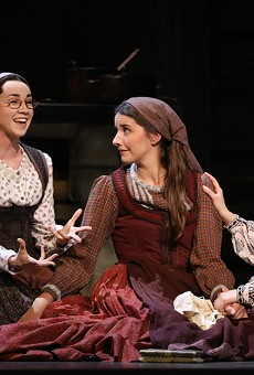 Beloved Broadway Classic Fiddler on the Roof Setting Up at the Majestic