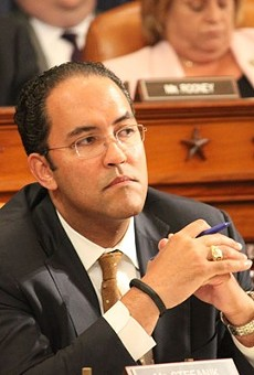 Despite occasional slams at President Trump, Rep. Will Hurd votes in line with the president's positions 82 percent of the time.