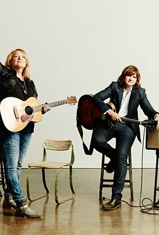 Emily Saliers (left) and Amy Ray of the Indigo Girls