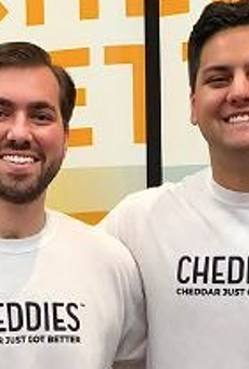Chatting with San Antonio Food Entrepreneurs Francisco and Tomas Pergola of Cheddie's