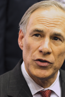 Gov. Greg Abbott endorsed a plan to pay for long-term school district tax cuts by hiking sales taxes.