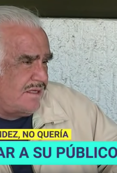 Fernández said he didn't want the liver because he didn't know where it came from, fearing he would receive the organ from a gay person or drug addict.