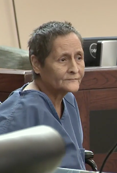 Beatrice Sampayo, 65, received a reduced bond a few months ago due to needing cancer treatment.