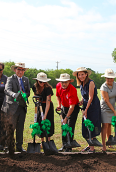 San Antonio Housing Authority, Partners Break Ground on Eastside Urban Garden (2)