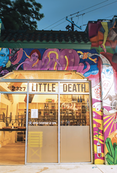 Wine-Curious: Little Death Brings a Bawdy Take on the Wine Bar to the St. Mary's Strip