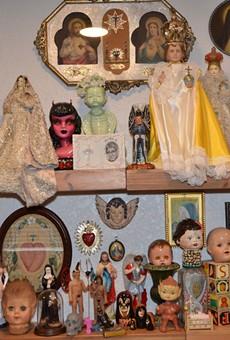 Studio Visits: San Antonio Artist Lisette Chavez on Growing Up Catholic, Devil Babies and Men Who Look Like Satan
