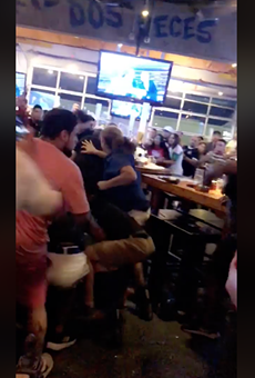 Video Shows Fight at San Antonio Bar Following Soccer Match