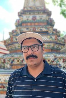 Ariel Faz kicks it in Thailand earlier this year.