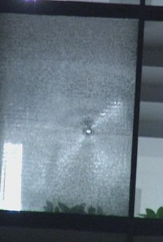 Shots shattered windows at a pair of buildings housing ICE offices in San Antonio early Tuesday morning.