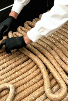 Dorćol Distilling + Brewing Co. Hopes to Beat Record for Longest Sausage During Oktoberfest Block Party
